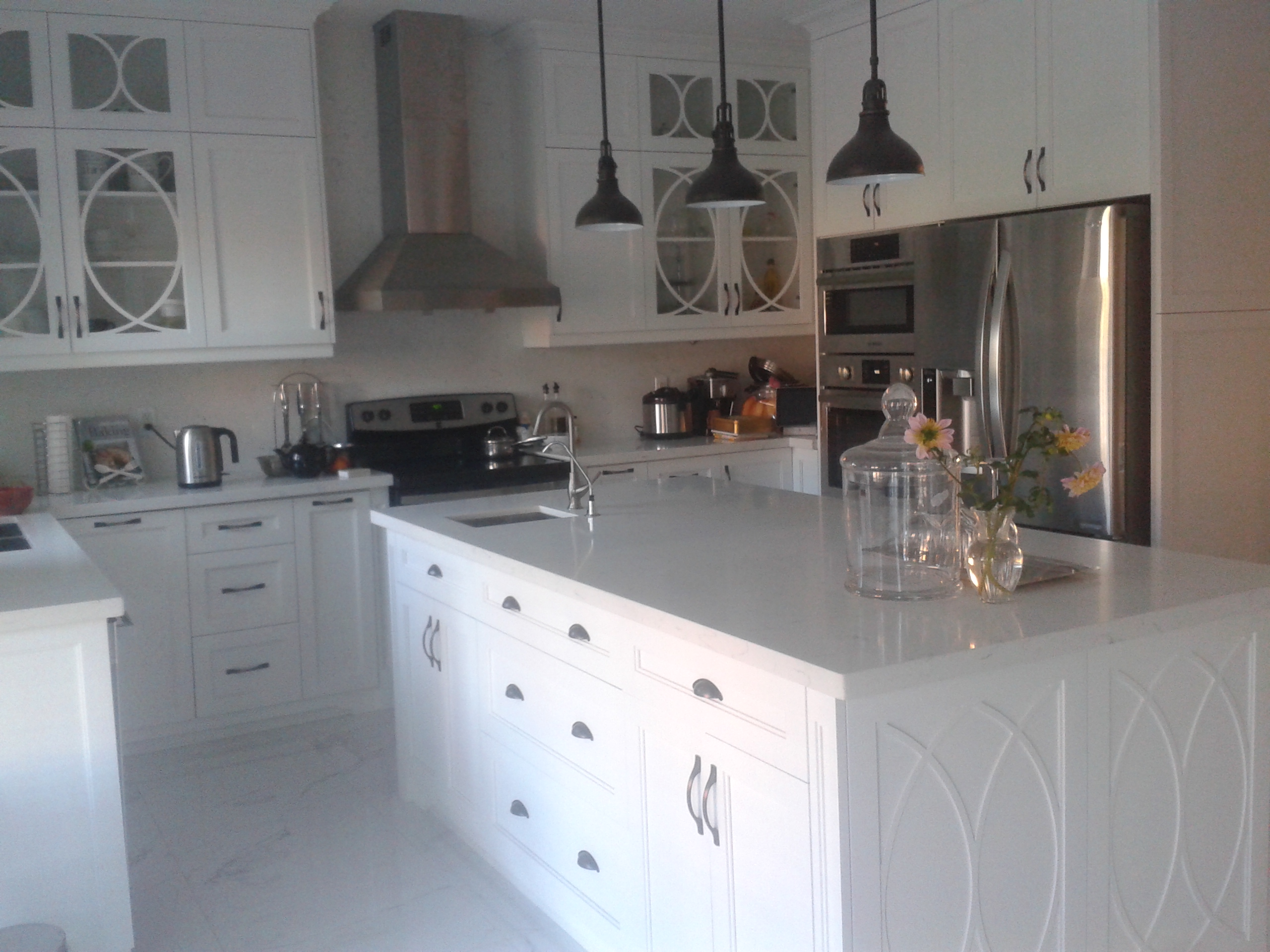 White MDF Kitchen